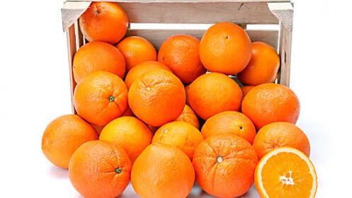 Caja de naranjas