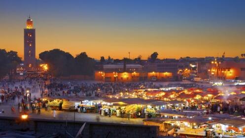 Viaje a Marrakech 2 o 3 días con vuelos. Hotel 4*. Salidas desde Madrid
