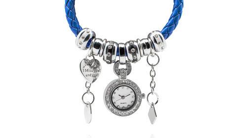 Pulsera con reloj vintage