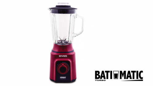 Batimatic Turbo con vaso de cristal 500 W