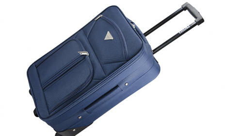 Viaja cómodamente con esta maleta de cabina semirrígida