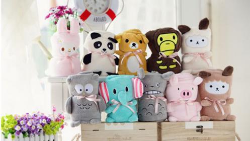 Mantas Baby Blanket con diseños de animales