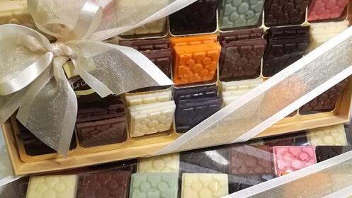 Lote de chocolate con Le Chocolat