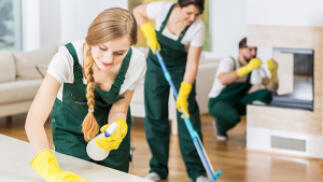 Limpieza general para tu vivienda
