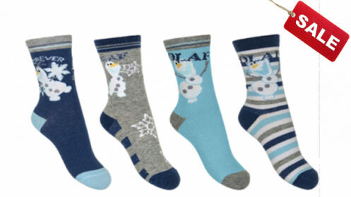 Pack de 3 calcetines Frozen