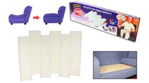 Laminas de apoyo para sofás o camas hundidos - Repara arregla sofás o muebles