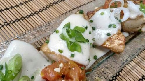Delicioso menú de cocina fusión eusko asiática, Ondori Botxo