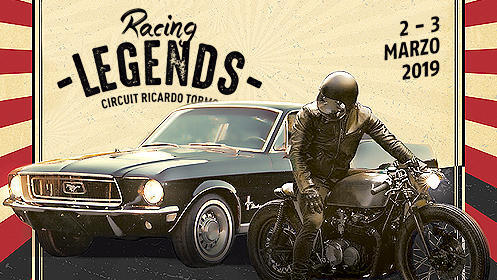 2x1 entradas Racing Legends 2019 en el Circuito de Cheste